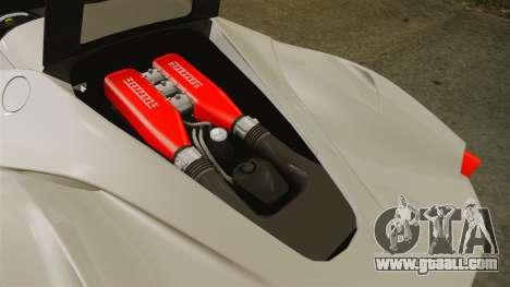 Ferrari LaFerrari Spider v2.0 for GTA 4 inner view