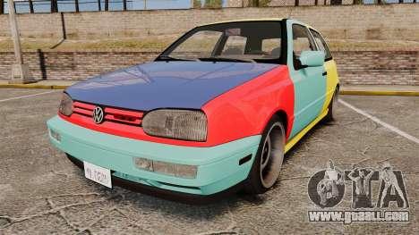 Volkswagen Golf MK3 Harlequin for GTA 4