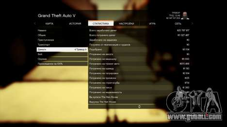 GTA 5 Save GTA 5 100% and 1 billion PS3 fifth screenshot