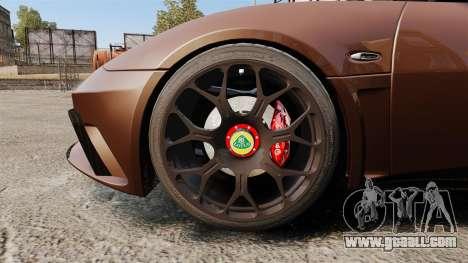 Lotus Evora GTE Mansory for GTA 4 back view