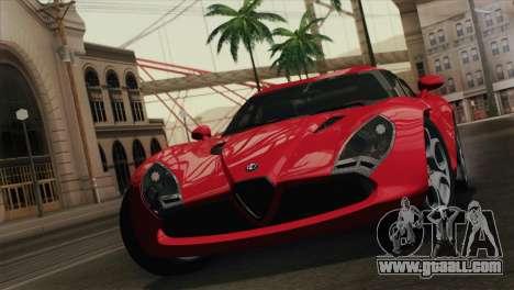 Alfa Romeo Zagato TZ3 2012 for GTA San Andreas