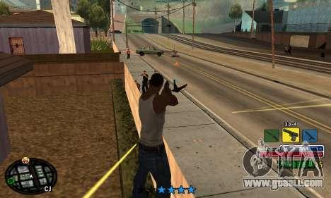C-HUD Rainbow for GTA San Andreas