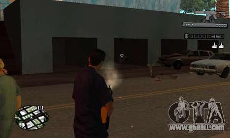 C-HUD Smoke for GTA San Andreas fifth screenshot