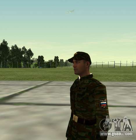 Fighter of the Russian Army v 2.0 for GTA San Andreas third screenshot