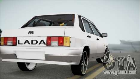 VAZ M for GTA San Andreas back left view