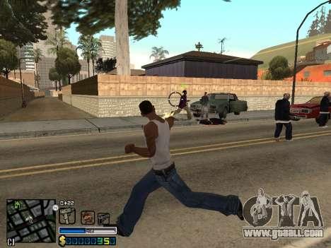 C-HUD By Stafford for GTA San Andreas sixth screenshot