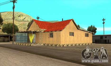New house of Sijia in El Quebrados v1.0 for GTA San Andreas