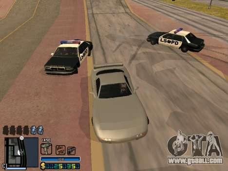 C-HUD By Stafford for GTA San Andreas tenth screenshot