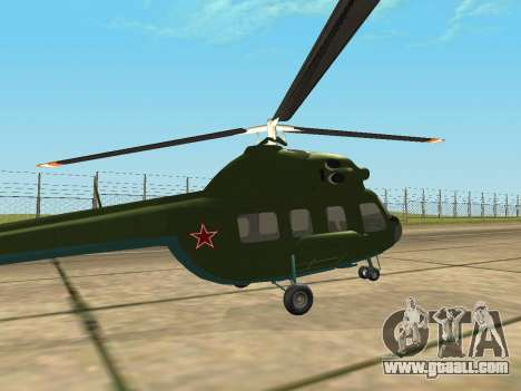 Mi 2 military for GTA San Andreas right view