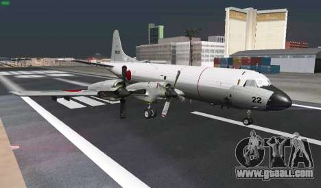 Lockheed P-3 Orion FAJ for GTA San Andreas upper view