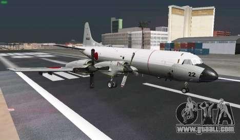 Lockheed P-3 Orion FAJ for GTA San Andreas upper view