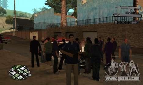 C-HUD Smoke for GTA San Andreas