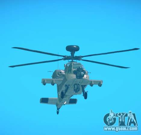 AH-64 Longbow Apache for GTA San Andreas