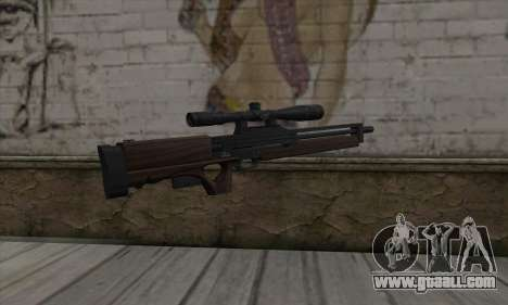 Walther WA2000 for GTA San Andreas second screenshot