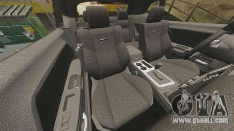 Dodge Challenger SRT8 2012 for GTA 4 side view