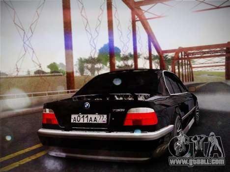 BMW 730d E38 1999 for GTA San Andreas left view
