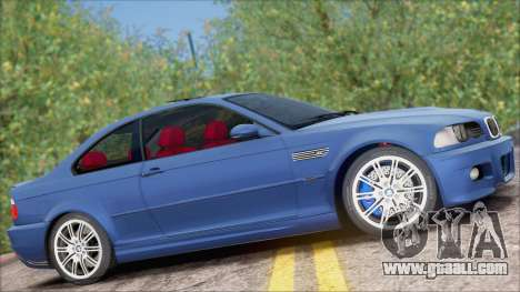 BMW M3 E46 2002 for GTA San Andreas back left view
