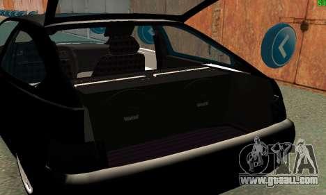 VAZ-21123 TURBO-Cobra for GTA San Andreas inner view