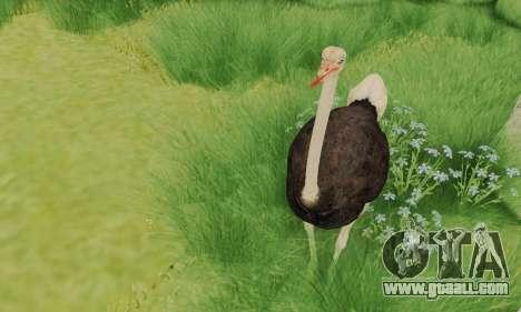 Ostrich From Goat Simulator for GTA San Andreas third screenshot