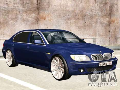 BMW 760Li for GTA San Andreas