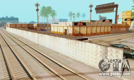The new texture pizzerias and amenities at Delud for GTA San Andreas sixth screenshot