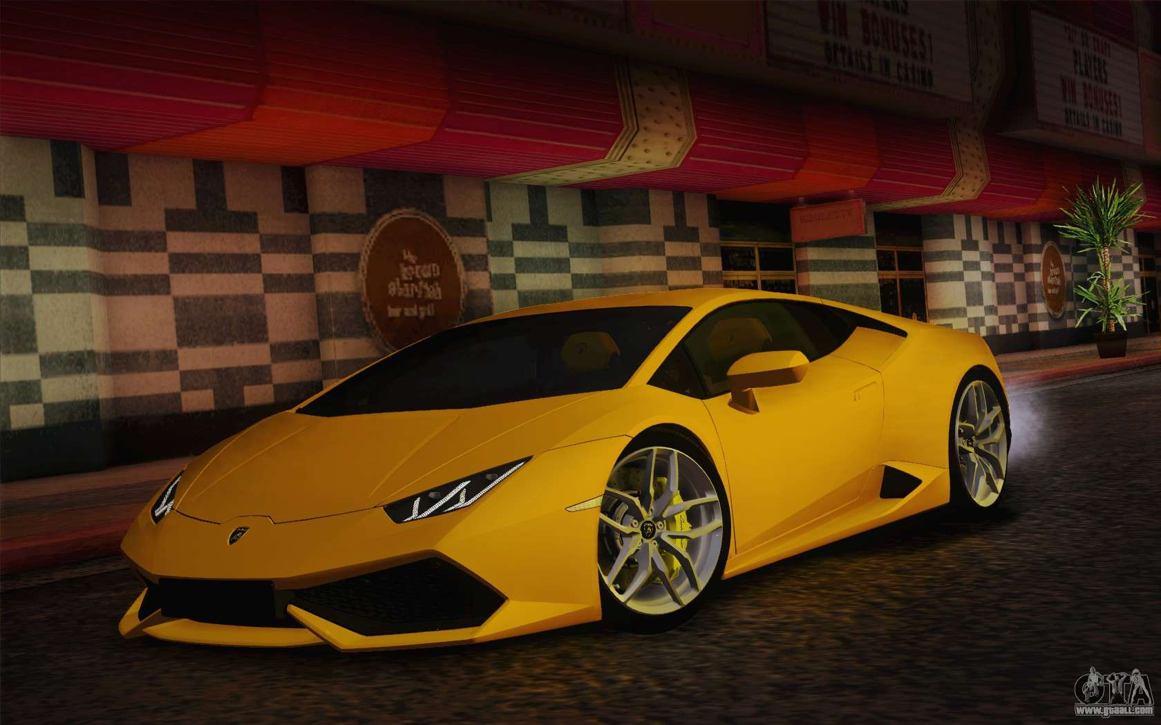lamborghini huracan 2013 for gta san andreas. Black Bedroom Furniture Sets. Home Design Ideas