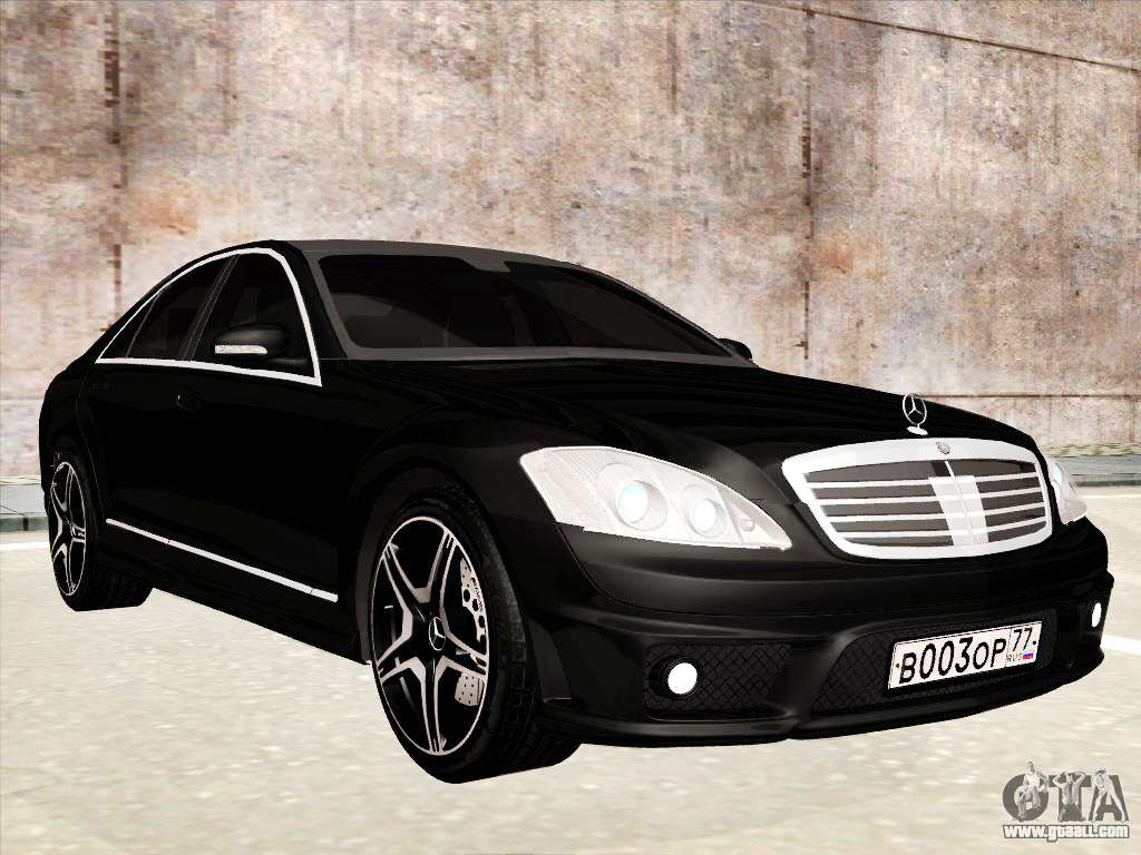 Mercedes benz s65 amg for gta san andreas for Mercedes benz s65 amg