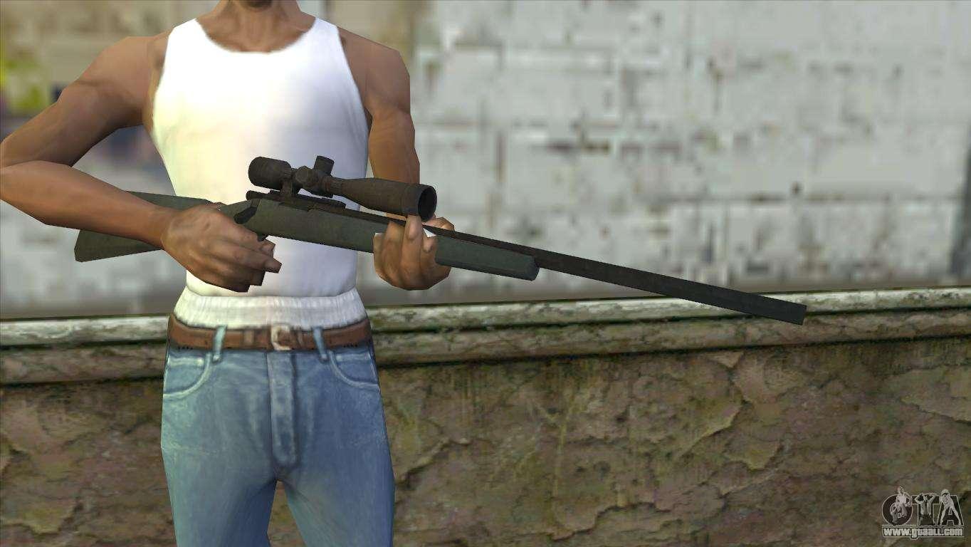 M40a1 Sniper Rifle For Gta San Andreas