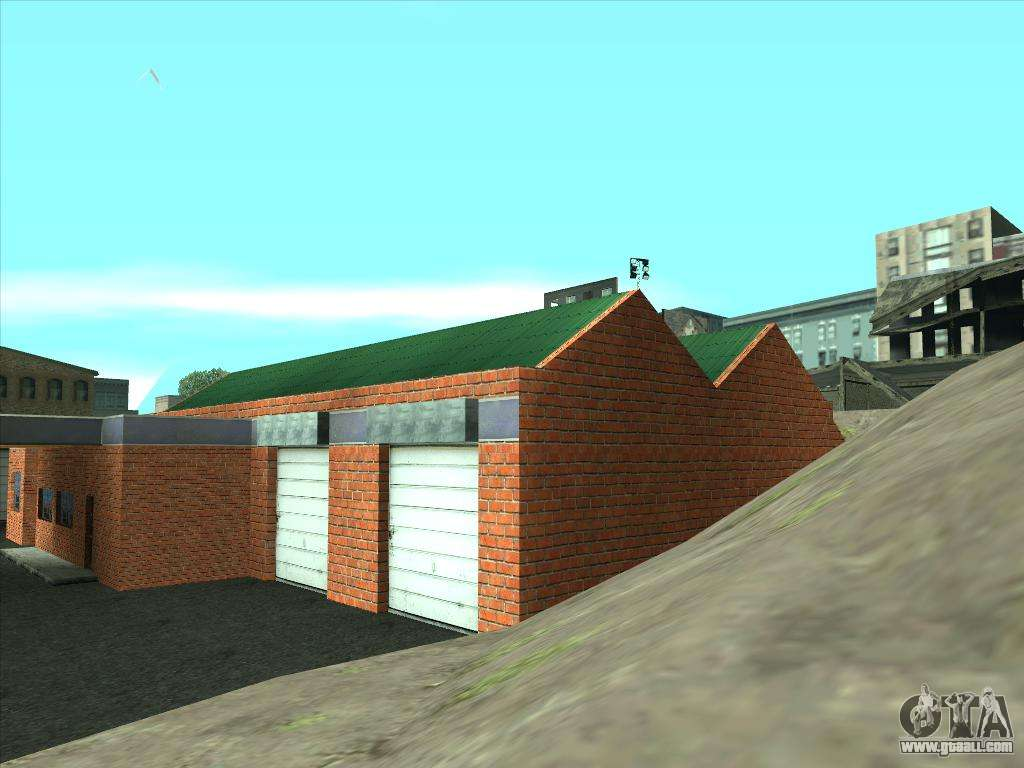 New garage in san fierro for gta san andreas for New garage