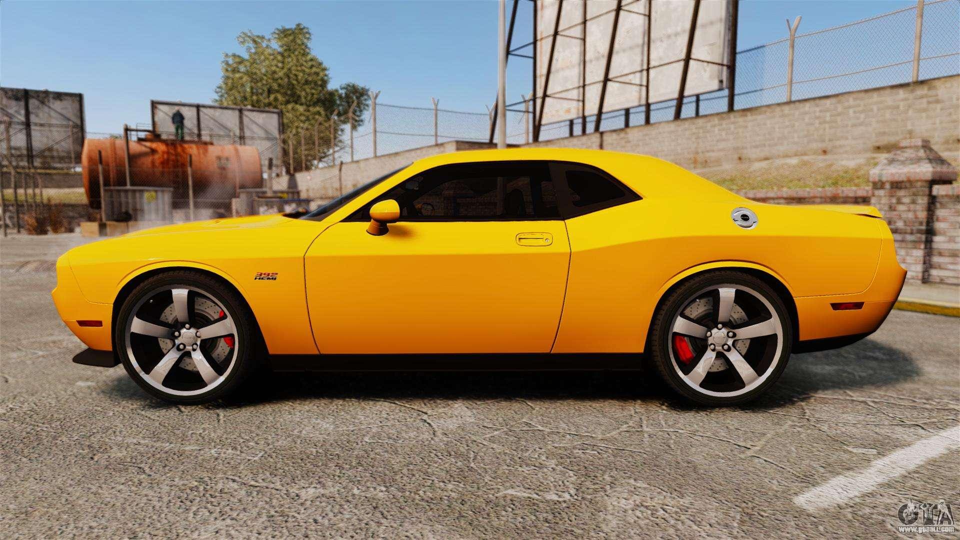 Dodge Challenger 2014 >> Dodge Challenger SRT8 2012 for GTA 4