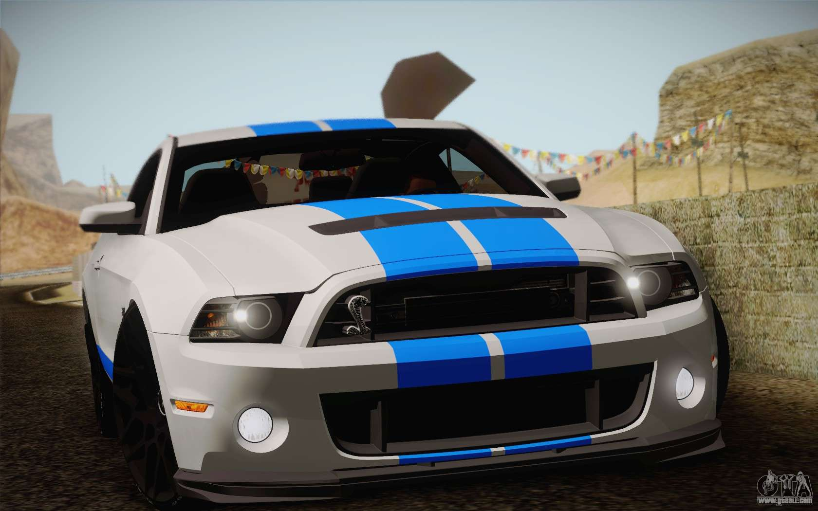 Ford Shelby Gt500 2013 For Gta San Andreas Gt 500