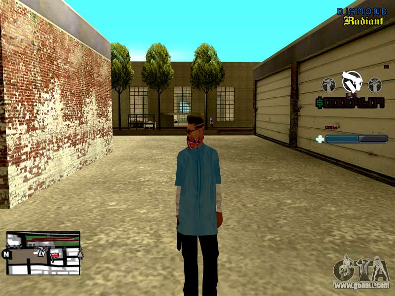 C-HUD Unity for GTA San Andreas