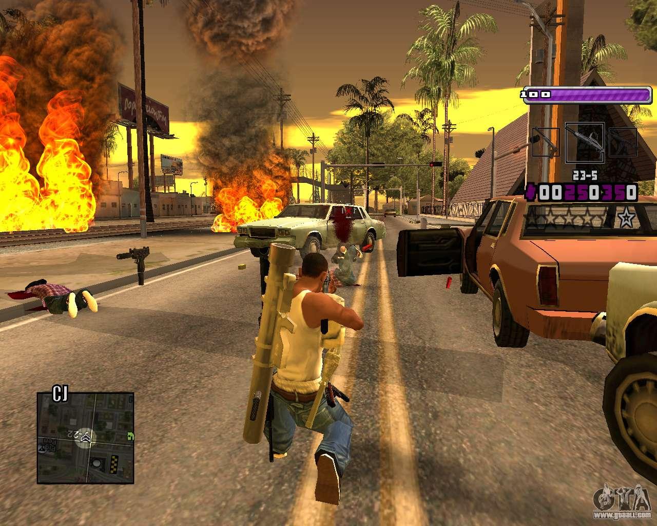 C-HUD Lite v3 0 for GTA San Andreas