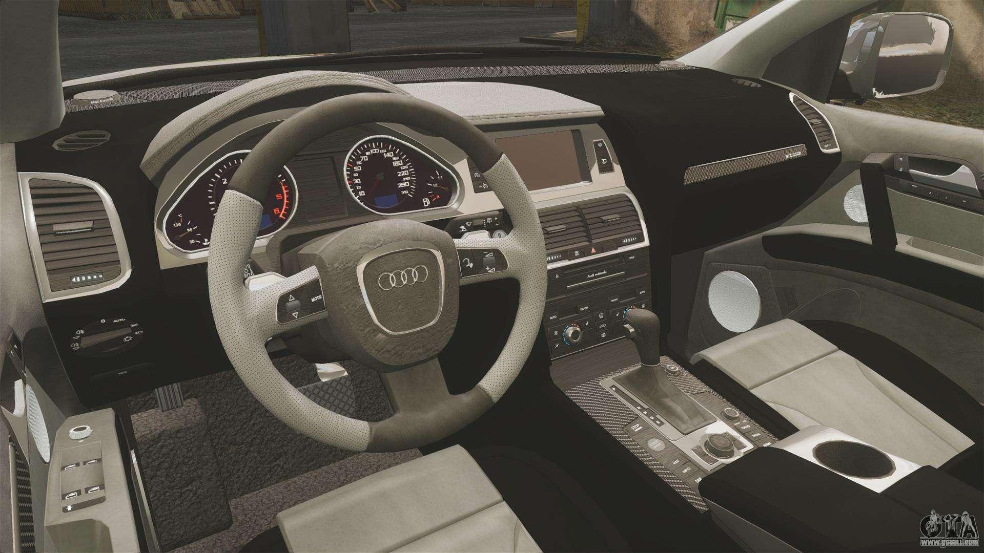 Audi Q7 Fck Plc Els For Gta 4