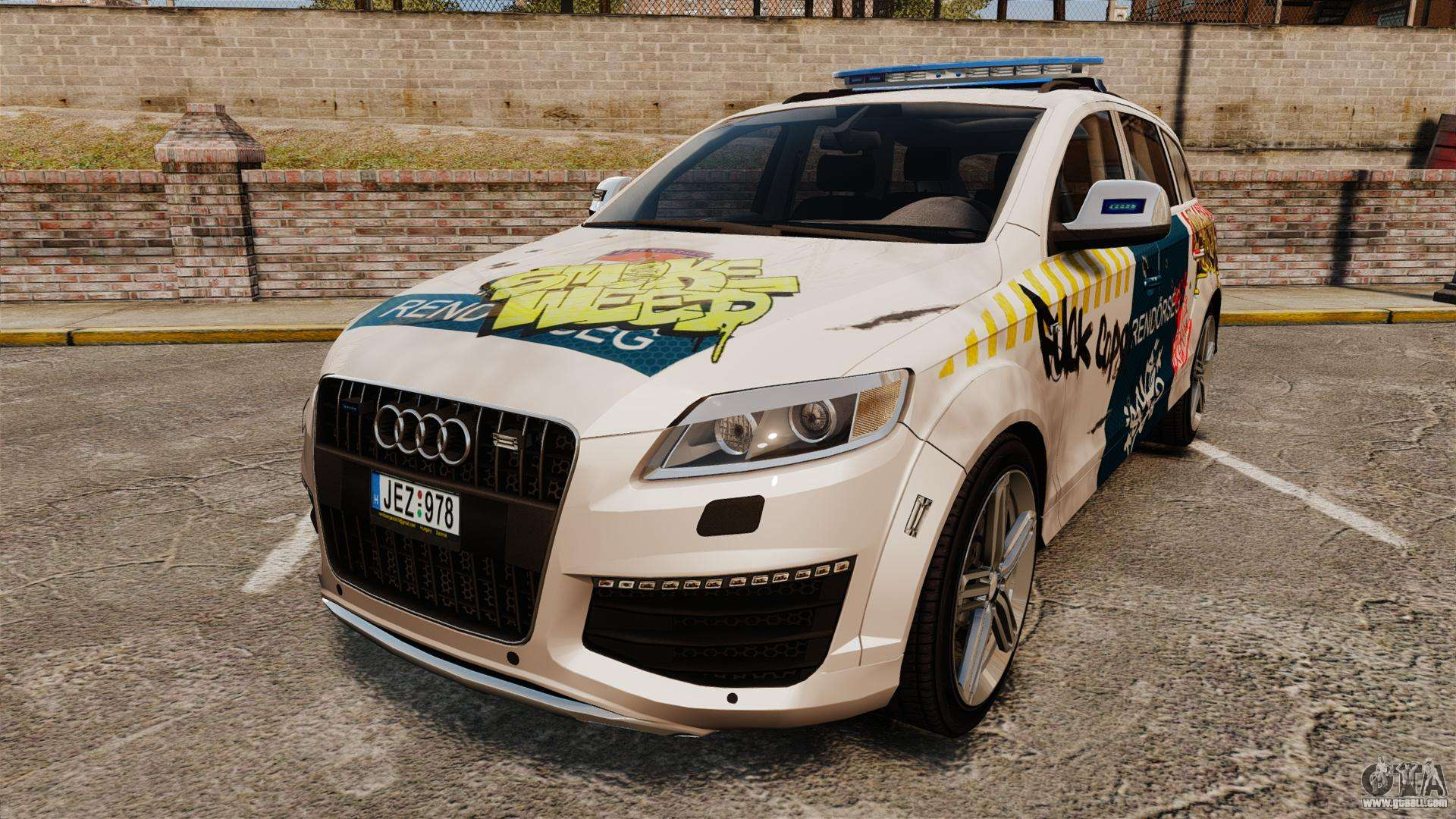 2014 Audi Q7 Mods