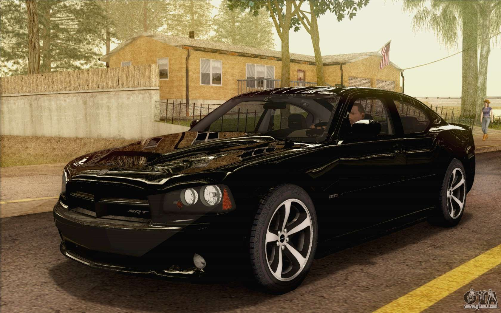 Dodge Charger Srt8 2006 For Gta San Andreas