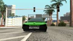 VAZ 2109 Diamond lime for GTA San Andreas