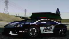 Lamborghini Aventador LP 700-4 Police for GTA San Andreas