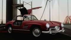 Mercedes-Benz 300SL 1955 for GTA San Andreas