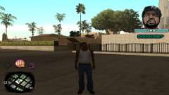 C-HUD Ice Cube for GTA San Andreas