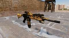 Automatic rifle Colt M4A1 Fall Camos