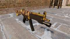 The submachine gun HK MP5 Fall Camos