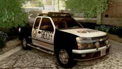 Chevrolet Colorado Sheriff for GTA San Andreas