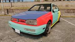 Volkswagen Golf MK3 Harlequin for GTA 4