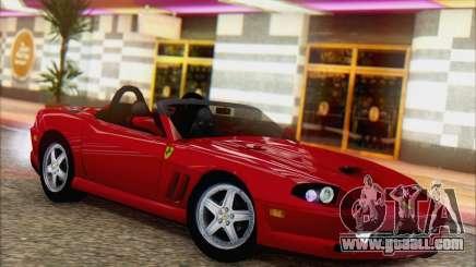 Ferrari 550 Barchetta for GTA San Andreas