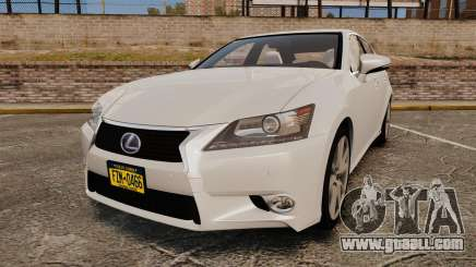 Lexus GS 300h for GTA 4