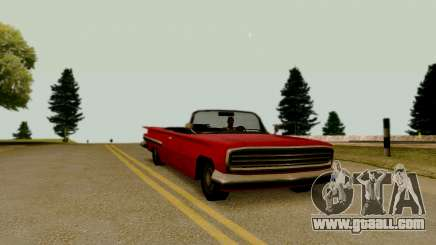Voodoo Convertible (version without lights) for GTA San Andreas