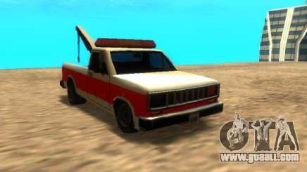 New Tow (Bobcat) for GTA San Andreas