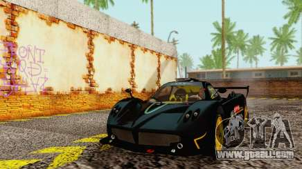 Pagani Zonda Type R Black for GTA San Andreas