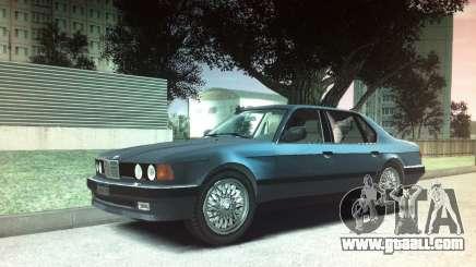 BMW 735iL e32 for GTA 4
